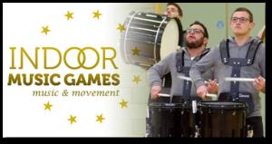 indoor music games poster