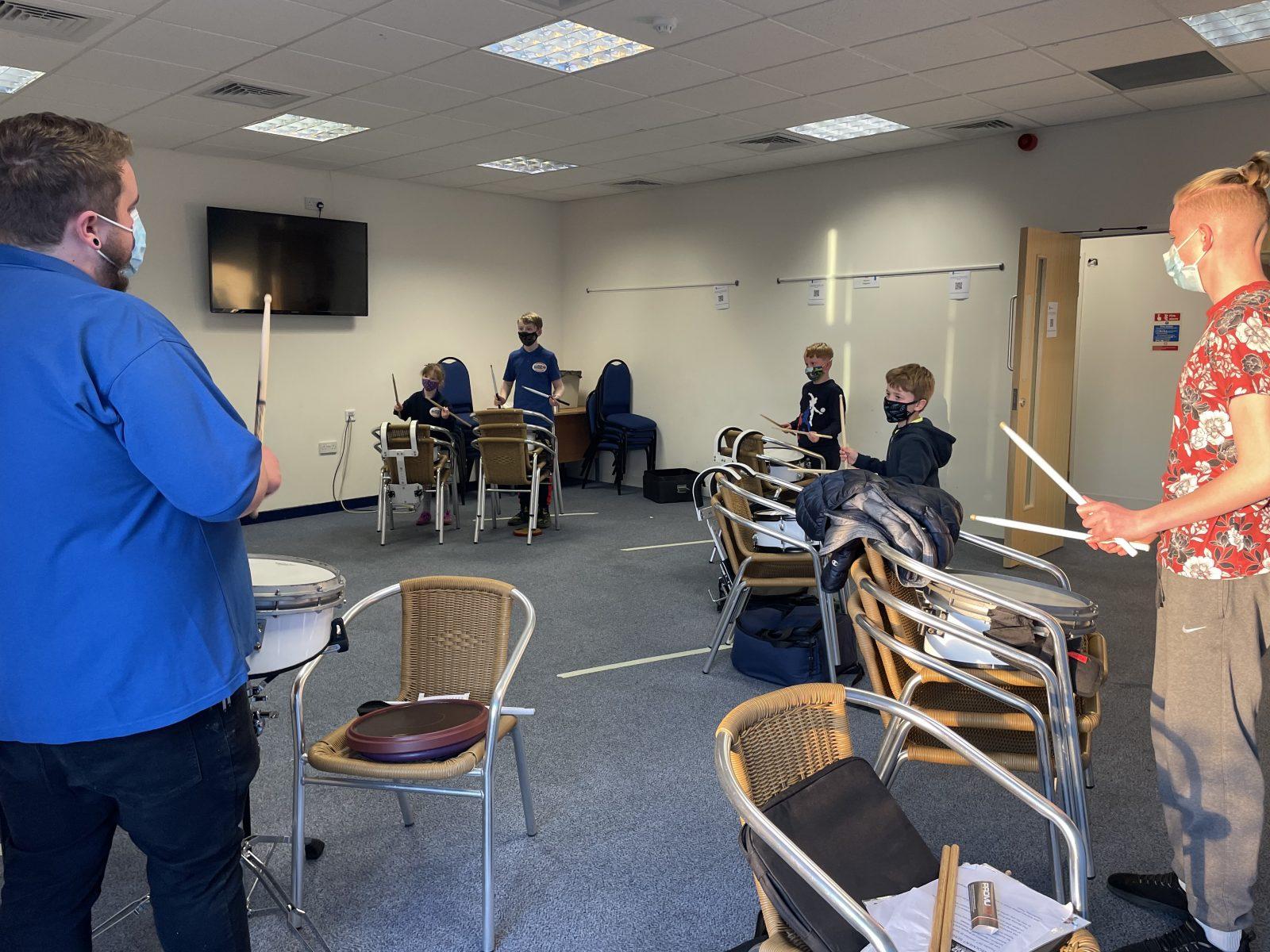 Stafford Brigades returning to rehearsal